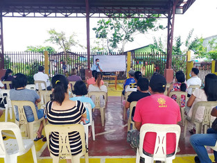 MNWD partakes in the Naga-Linaw Program orientation seminar in Barangay Mabolo