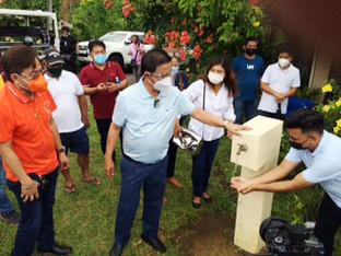 Solar-powered water system to serve Legazpi brgy