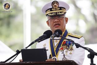 NEW PHILIPPINE NAVY CHIEF