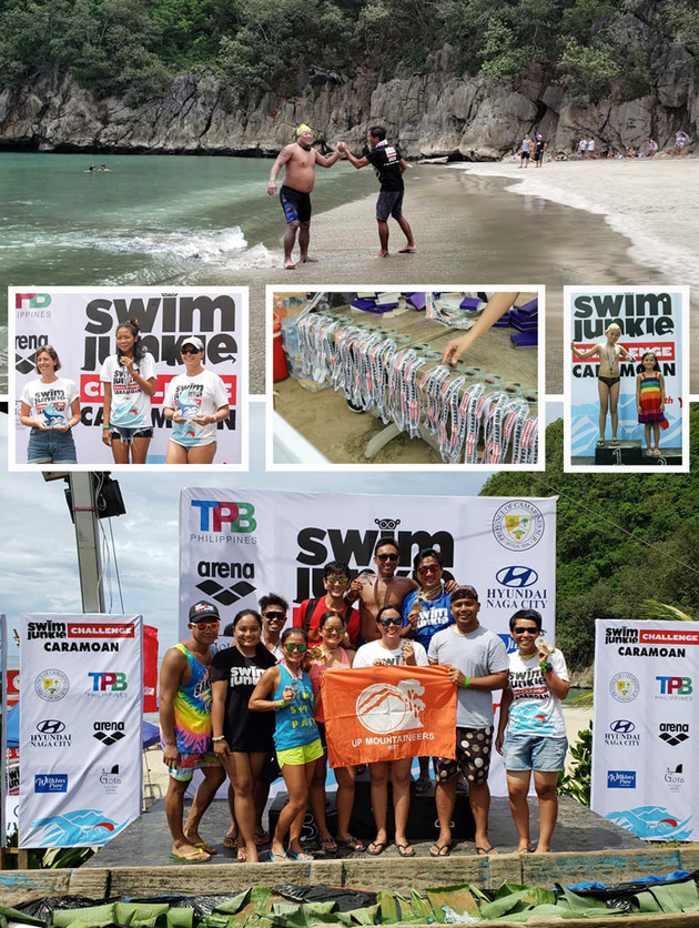 Swimjunkie Challenge in Caramoan | Bicol Mail