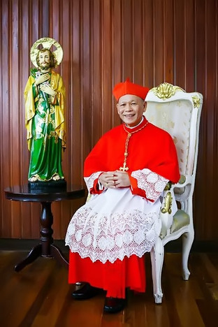 'Red hat' ceremony of Cardinal Advincula reset to June 18