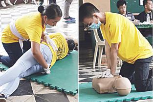 1st Naga City Inter-School First Aid Olympics: Elementary, HS studes vie as emergency responders