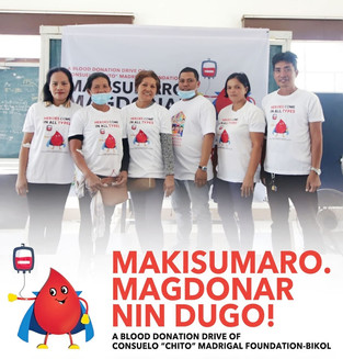 Madrigal group holds blood donation drive