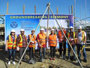 Ragay TESDA Polytechnic Skills Institute leads groundbreaking of new building