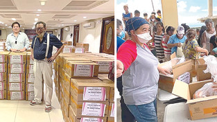 Villa Caceres Hotel mounts relief operations for Bicol victims
