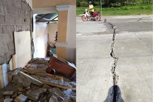 ANTES KAN 6.6 MAGNITUDE EARTHQUAKE: Masbate, pinamate na