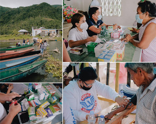 Backpack Mission extending medical care to Buhi