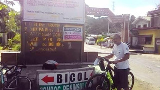 Nagtatrabajo sa Cavite nagpuli sa CSur gamit an bisekleta