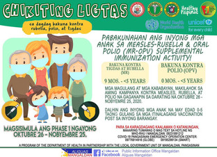 LGU Naga to immunize kids vs polio, measles