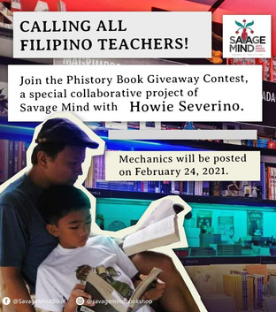 Savage Mind and Howie Severino partner for a book giveaway contest