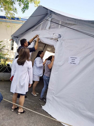 SA NOVEL CORONAVIRUS: Quarantine bldg. sa BMC preparado na