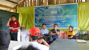 MNWD hosts 3-day Training on Sustainable Cacao Production for CFCs
