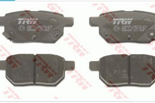 Rear Brake Pads Set - Toyota, Subaru, Aston-Martin