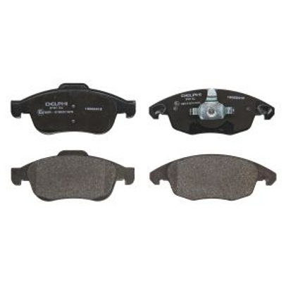 Front Brake Pads- Peugeot, Citroen, DS