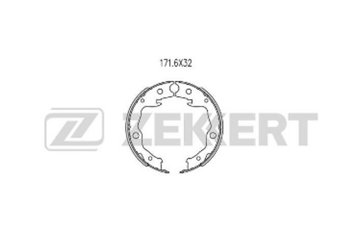 Brake Shoe Set - Toyota, Nissan, Renault.