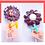 Thumbnail: Sucette au chocolat au lait (Fleur)