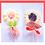 Thumbnail: Sucette au chocolat blanc (Fleur)