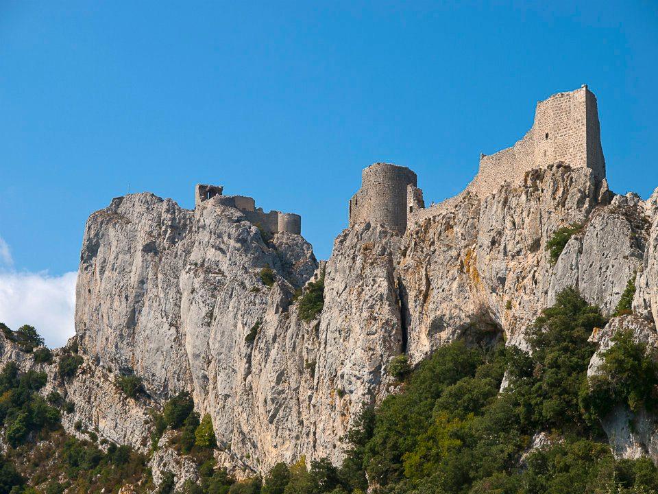 Nearby Cathar castle