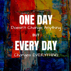 Lasting Change = Small Daily Steps
