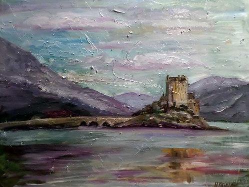 Шотландский замок Eilean Donan