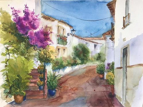 Испанские улочки