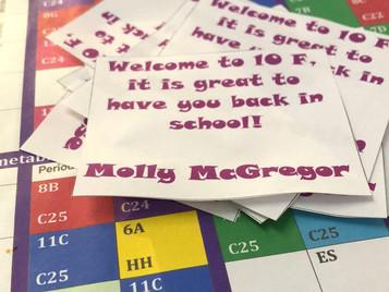 September update - Back to School at last!!!