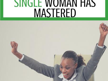 5 Habits of a Successful Single Woman
