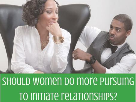 Should Women Do More Pursuing?