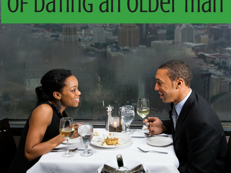 Dating an Older Man May be the Answer