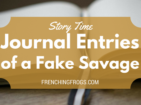 Journal Entries of a Fake Savage: Raina