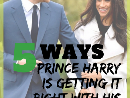 4 Ways Prince Harry is Getting it Right with His Wife