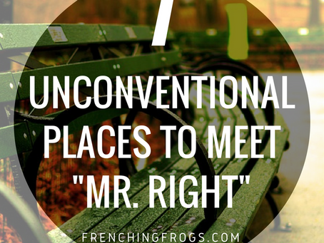 7 Unconventional Places to Meet Mr. Right