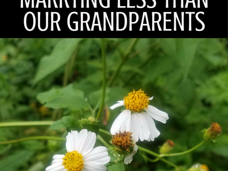 4 Reasons Why We're Marrying Less Than our Grandparents