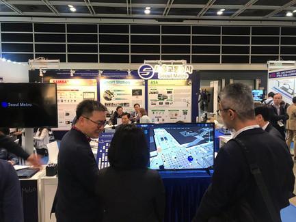 플럭시티가 개발한 교통공사 Smart Station, '2019 아시아태평양 철도 컨퍼런스' 참가