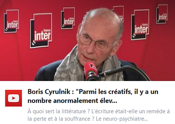 """Boris Cyrulnik : """"Parmi les créatifs, il y a un nombre anormalement élevé d'orphelins"""""""