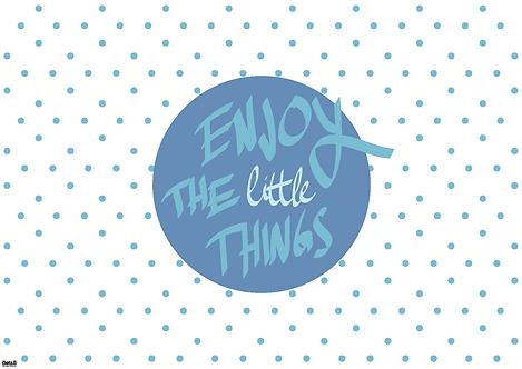 Papiertischsets ENJOY THE little THINGS FSC®-Mix