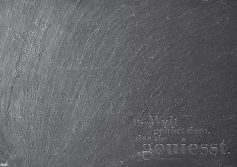 Papiertischsets Schiefer Genuss FSC®-Mix