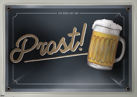 Papiertischsets Prost FSC®-Mix