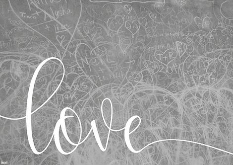 Papiertischsets Love FSC®-Mix