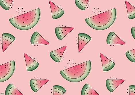 Papiertischsets Wassermelonen FSC®-Mix
