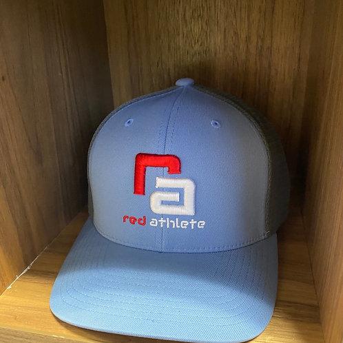 Red Athlete Allure/Graphite Flexfit SnapBack Hat