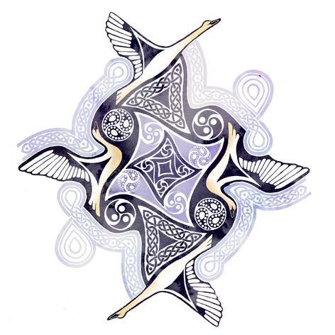 Claddagh Swans