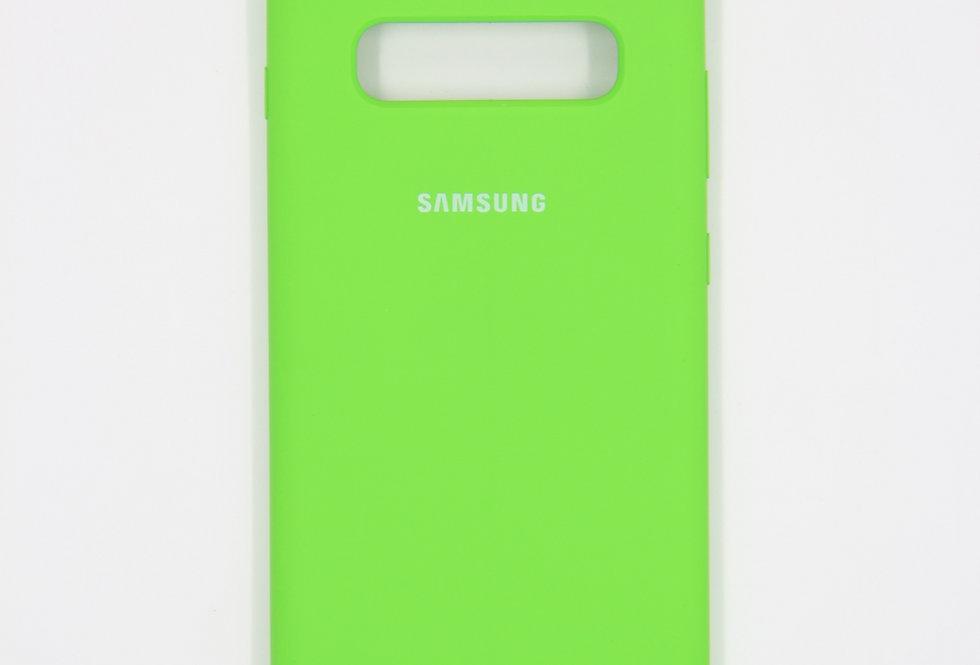 Силиконовый чехол на Samsung Galaxy S10+