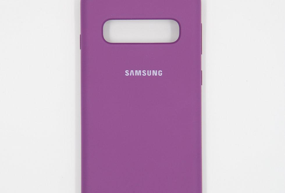 Силиконовый чехол на Samsung Galaxy S10