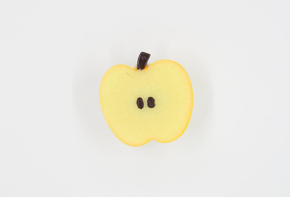 Попсокет 3D Жёлтое яблок