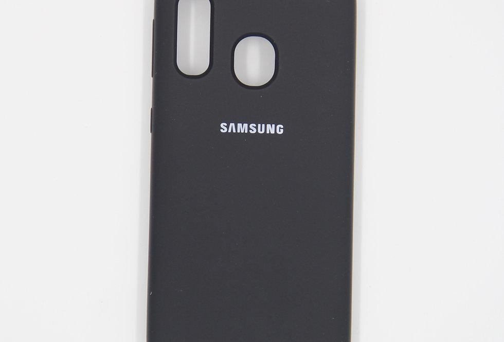 Силиконовый чехол на Samsung Galaxy A40