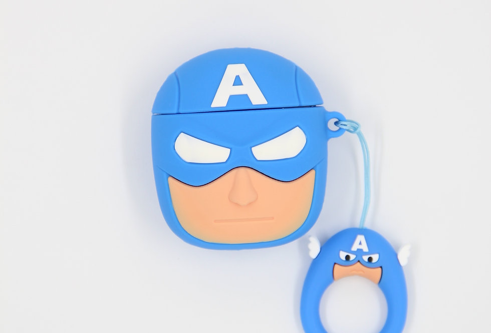 Чехол на AirPods (Captain America)