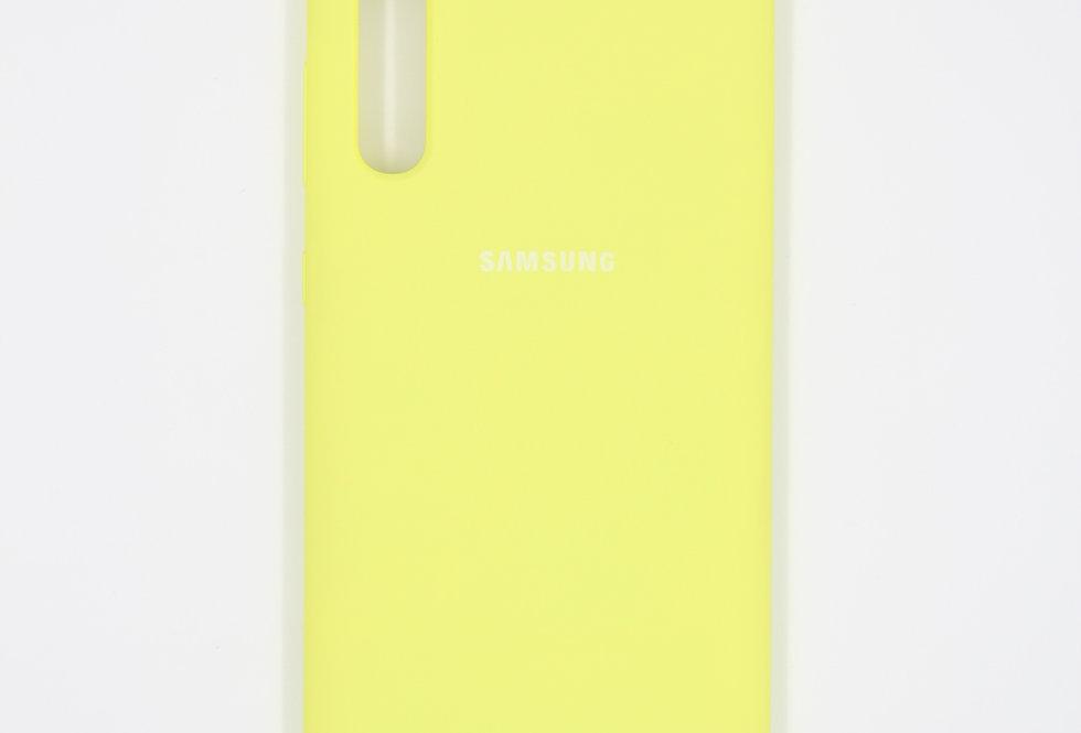 Силиконовый чехол на Samsung Galaxy A50