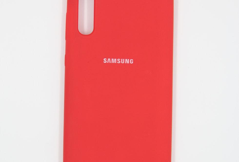 Силиконовый чехол на Samsung Galaxy A70