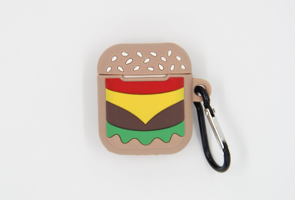 Чехол на AirPods (Burger)